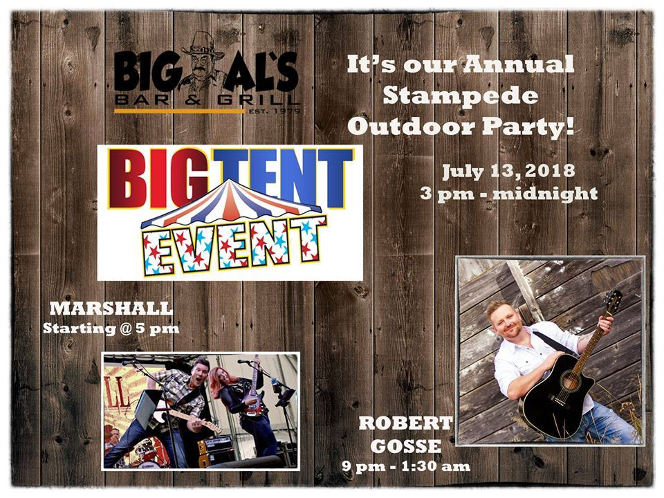 Big Als Tent Event 2018